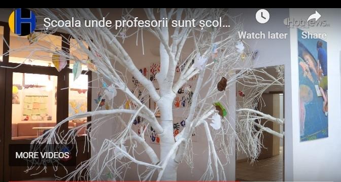 VIDEOREPORTAJ la Școala Ferdinand I unde profesorii aplică la clasă ce au văzut în Danemarca